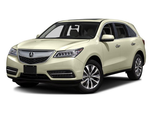 2016 Acura MDX wTech All Wheel Drive Active Suspension Power Steering ABS 4-Wheel Disc Brakes