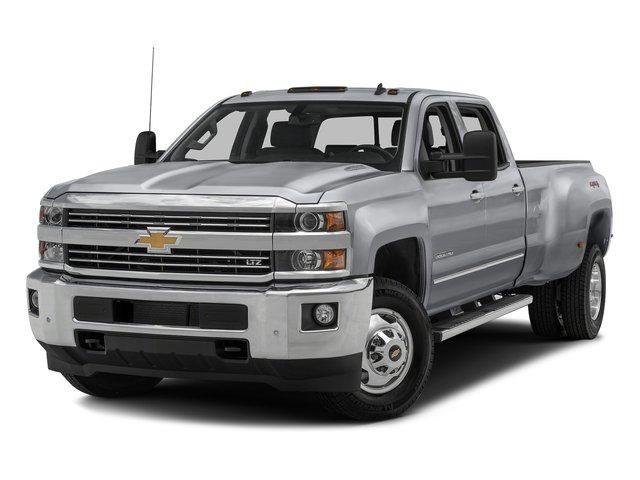 2016 Chevrolet Silverado 3500HD Work Truck LockingLimited Slip Differential Four Wheel Drive Tow