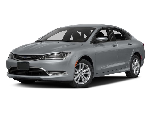2016 Chrysler 200 UFCH41 Limited Automatic Granite Crystal Metallic Clearcoat Black Front Wheel