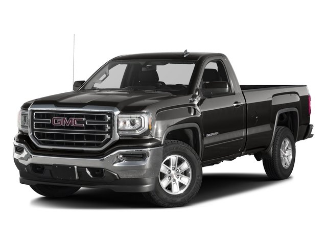 2016 GMC Sierra 1500  Four Wheel Drive Tow Hooks Power Steering ABS 4-Wheel Disc Brakes Steel