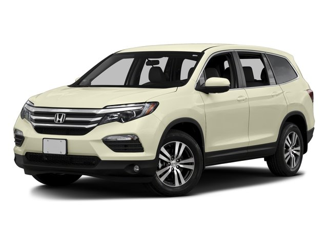 2016 Honda Pilot YF5H3GEW EX Automatic Modern Steel Metallic Gray Front Wheel Drive Power Stee