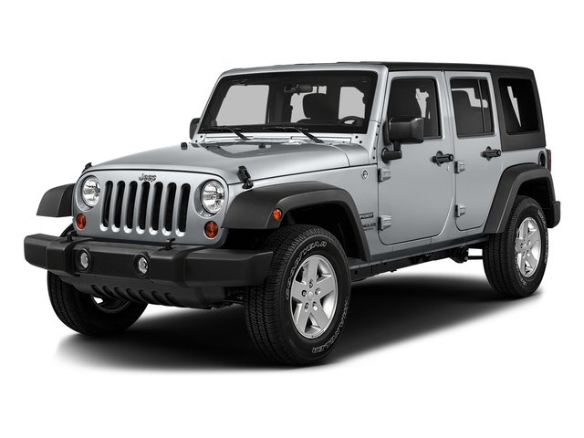 2016 Jeep Wrangler Unlimited SAHA Four Wheel Drive Power Steering ABS 4-Wheel Disc Brakes Brake