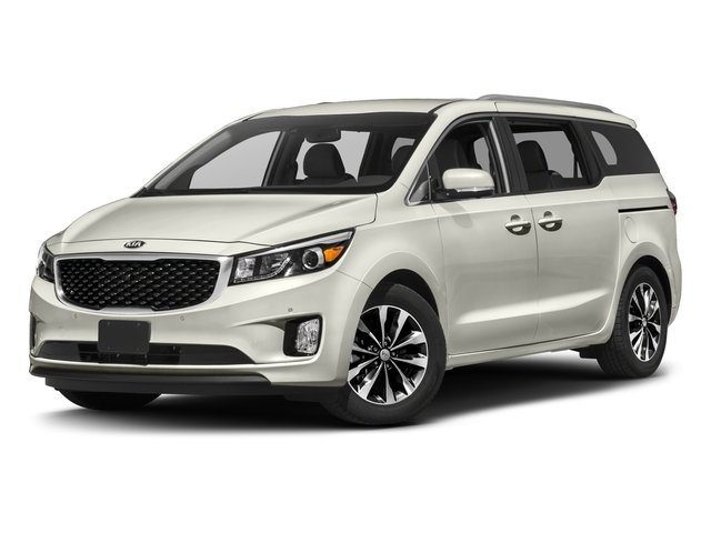 2016 Kia Sedona SX WHEEL LOCKS AURORA BLACK PEARL CAMEL BEIGE  LEATHER SEAT TRIM REAR SEAT ENTER