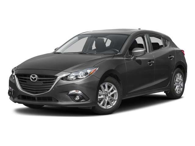 2016 Mazda Mazda3 i Touring DEEP CRYSTAL BLUE MICA BLACK  PREMIUM CLOTH SEAT TRIM Front Wheel Dri