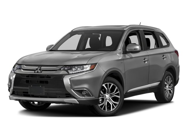 2016 Mitsubishi Outlander ES Four Wheel Drive Power Steering ABS 4-Wheel Disc Brakes Brake Assi
