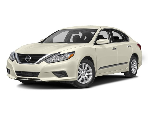 2016 Nissan Altima 25 S X01 POWER DRIVER SEAT PACKAGE PEARL WHITE BEIGE  CLOTH SEAT TRIM Fron