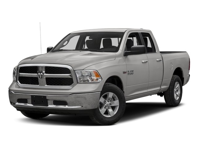 2016 Ram 1500 DS1H41  Automatic Bright Silver Metallic Clearcoat Rear Wheel Drive Power Steerin