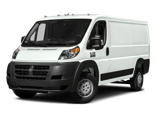 2016 Ram ProMaster Cargo Van Low Roof TRANSMISSION 6-SPEED AUTOMATIC 62TE  STD PARKSENSE REAR P