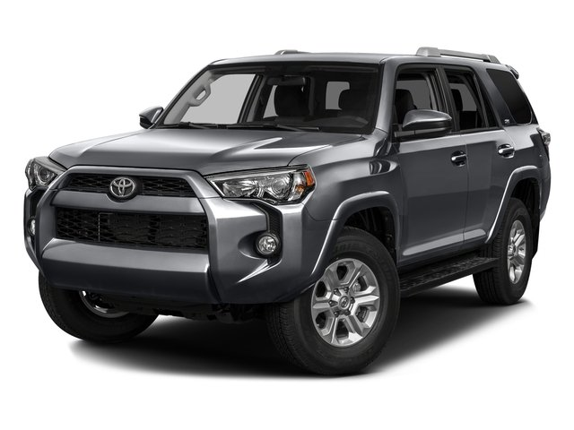 2016 Toyota 4Runner SR5 Rear Wheel Drive Tow Hitch Power Steering ABS 4-Wheel Disc Brakes Brak