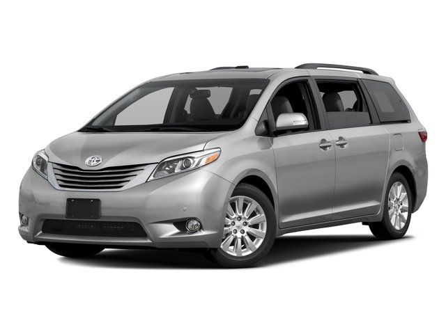 2016 Toyota Sienna XLE Black Side Windows TrimBody-Colored Front BumperBody-Colored Power Heated