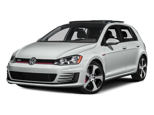 2016 Volkswagen Golf GTI Autobahn wPerformance Pkg Turbocharged Front Wheel Drive Power Steering