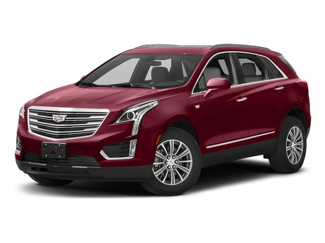 2017 Cadillac XT5 Premium Luxury AWD JET BLACK  LEATHER SEATING SURFACES WITH MINI-PERFORATED INSER