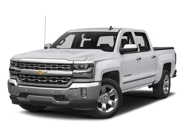 2017 Chevrolet Silverado 1500 LTZ JET BLACK  PERFORATED LEATHER-APPOINTED SEAT TRIM AUDIO SYSTEM
