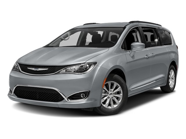2017 Chrysler Pacifica Touring-L MOLTEN SILVER BLACKALLOY  LEATHER TRIMMED BUCKET SEATS  -inc Wi