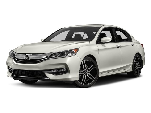2017 Honda Accord Sedan CR2F5HEW Sport Variable Lunar Silver Metallic Black Front Wheel Drive