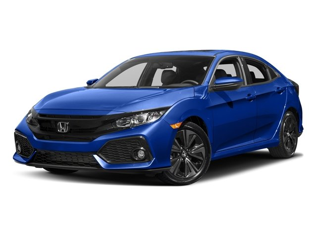2017 Honda Civic Hatchback FK7H7HKNW EX-L Continuously Variable Gray Black Turbocharged Front