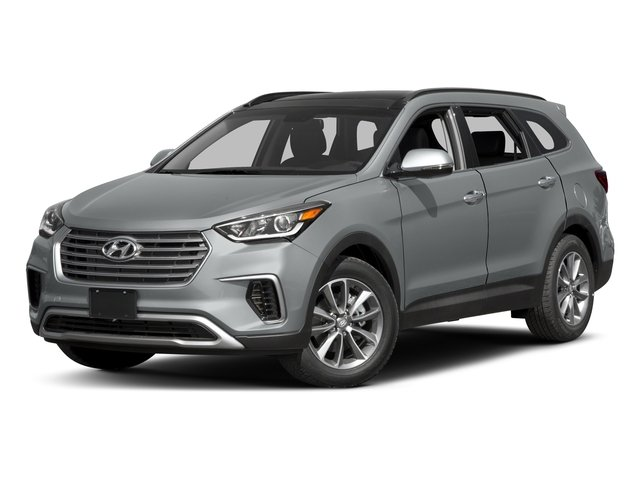 2017 Hyundai Santa Fe SE GRAY  CLOTH SEATING SURFACES WYES ESSENTIALS GRAY  LEATHER SEATING SURFA
