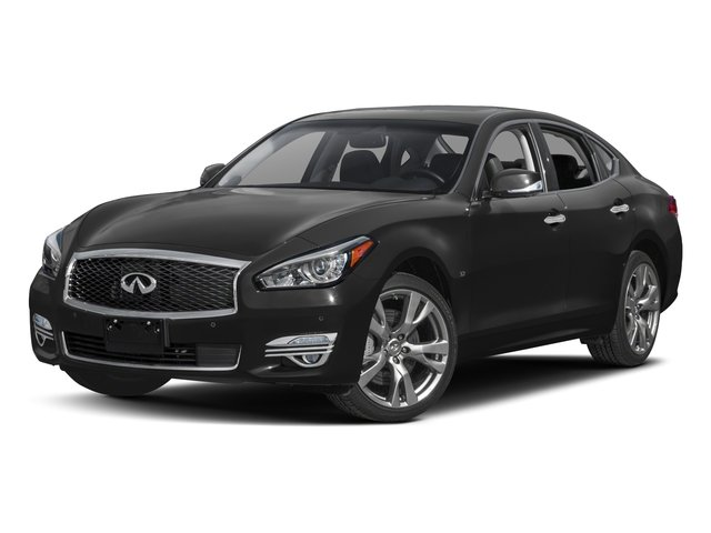 2017 INFINITI Q70 37 GRAPHITE  LEATHER-APPOINTED SEAT TRIM GRAPHITE  SEMI-ANILINE LEATHER-APPOINT