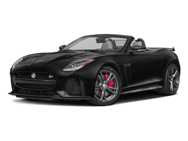 2017 Jaguar F-TYPE SVR Supercharged All Wheel Drive Active Suspension Power Steering ABS 4-Whe