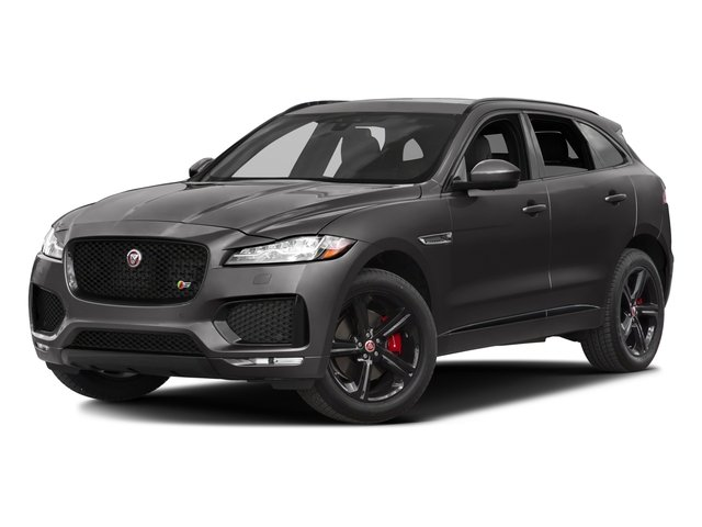 2017 Jaguar F-PACE S Supercharged All Wheel Drive Active Suspension Power Steering ABS 4-Wheel