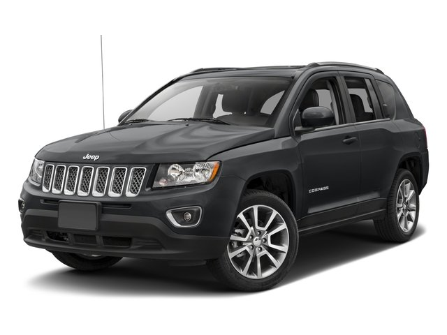 2017 Jeep Compass Latitude DARK SLATE GRAY  CLOTHVINYL LOW-BACK BUCKET SEATS TRANSMISSION 6-SPEE