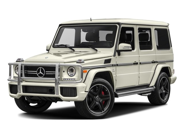 2017 Mercedes G-Class AMG G 63 Turbocharged All Wheel Drive LockingLimited Slip Differential Po