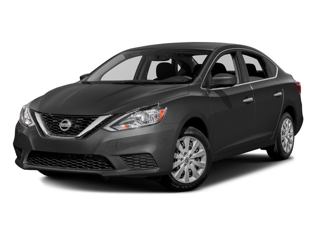 2017 Nissan Sentra S CVT with Xtronic Brilliant Silver Charcoal Front Wheel Drive Power Steeri
