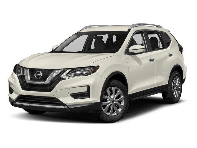 2017 Nissan Rogue S CVT with Xtronic Caspian Blue Charcoal Front Wheel Drive Power Steering A
