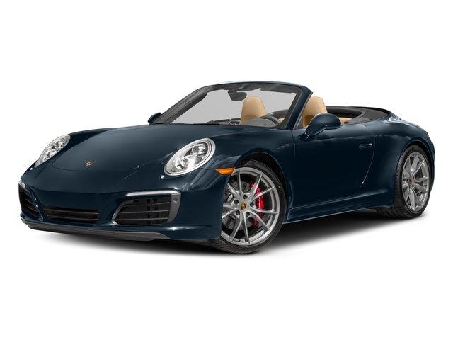 2017 Porsche 911 Carrera 4S JET BLACK METALLIC 14-WAY POWER SPORT SEATS  -inc electric adjustment
