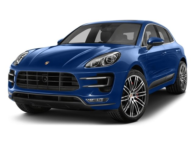 2017 Porsche Macan Turbo Turbocharged All Wheel Drive Active Suspension Power Steering ABS 4-W