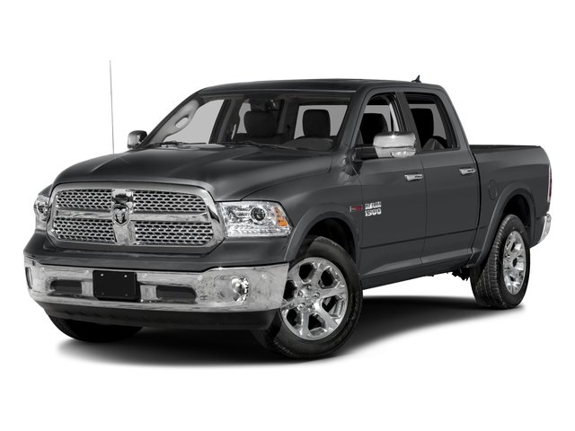 2017 Ram 1500 Laramie Four Wheel Drive Tow Hitch Power Steering ABS 4-Wheel Disc Brakes Brake