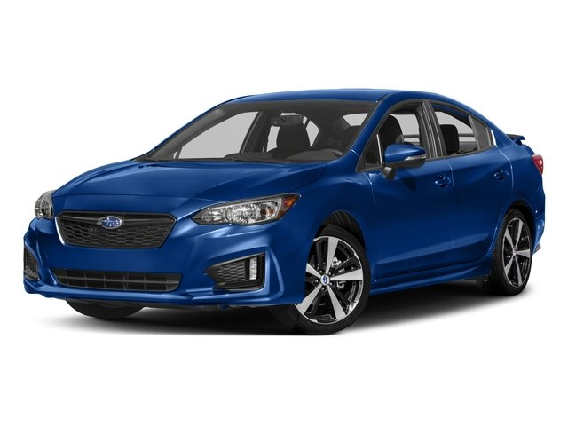 2017 Subaru Impreza Sport BLACK  SPORT CLOTH UPHOLSTERY STANDARD MODEL ICE SILVER METALLIC All W