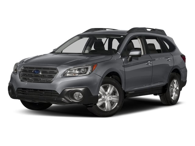 2017 Subaru Outback  ICE SILVER METALLIC STANDARD MODEL SLATE BLACK  CLOTH UPHOLSTERY Smart Devi