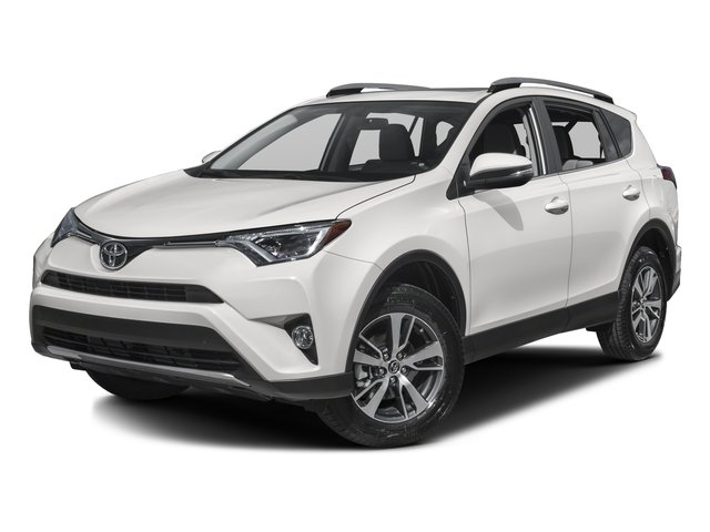2017 Toyota RAV4 XLE All Wheel Drive Power Steering ABS 4-Wheel Disc Brakes Brake Assist Alumi