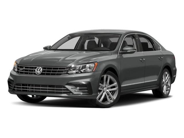2017 Volkswagen Passat R-Line wComfort Pkg PLATINUM GRAY METALLIC TITAN BLACK  V-TEX LEATHERETTE