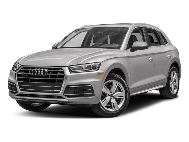 2018 Audi Q5 Premium Plus ROCK GRAY  LEATHER SEATING SURFACES AZORES GREEN METALLIC AUDI BEAM-QUA