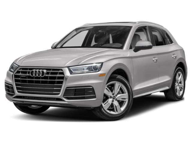 2018 Audi Q5 Premium Plus ALUMINUM RHOMBUS INLAYS BLACK  LEATHER SEATING SURFACES PREMIUM PLUS PA