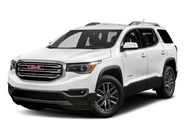 2018 GMC Acadia SLT SUMMIT WHITE JET BLACK  SEAT TRIM  PERFORATED LEATHER-APPOINTED WHEELS  4 - 1