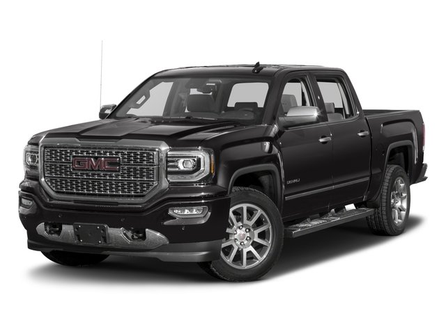 2018 GMC Sierra 1500 Denali JET BLACK  PERFORATED LEATHER-APPOINTED FRONT SEAT TRIM REAR AXLE  34