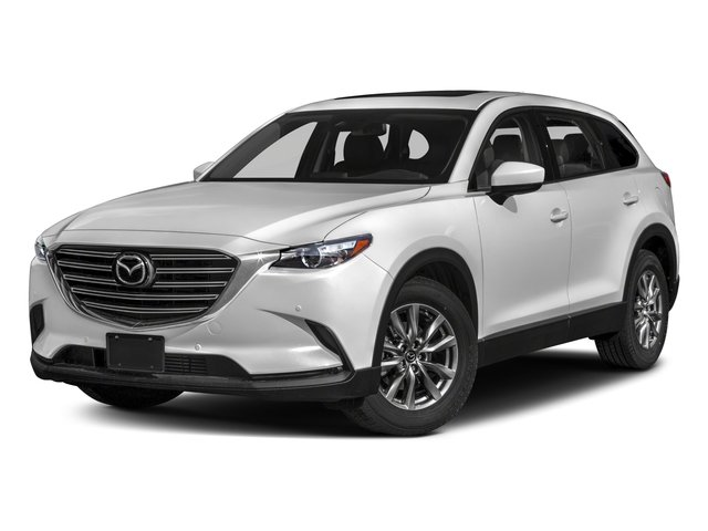 2018 Mazda CX-9 Touring BLACK  LEATHER-TRIMMED SEATS  -inc 1st and 2nd row outboard seating positi