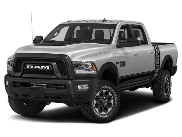 2018 Ram 2500 Power Wagon DIESEL GRAYBLACK  CLOTH BENCH SEAT WEMBOSS TREAD PATTERN SECURITY ALAR