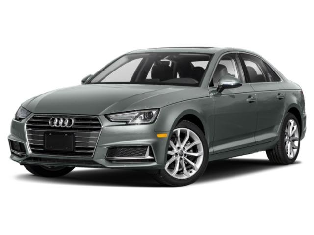 2019 Audi A4 Premium Plus BLACK  LEATHER SEATING SURFACES AUDI BEAM-RINGS  -inc lower door trim L