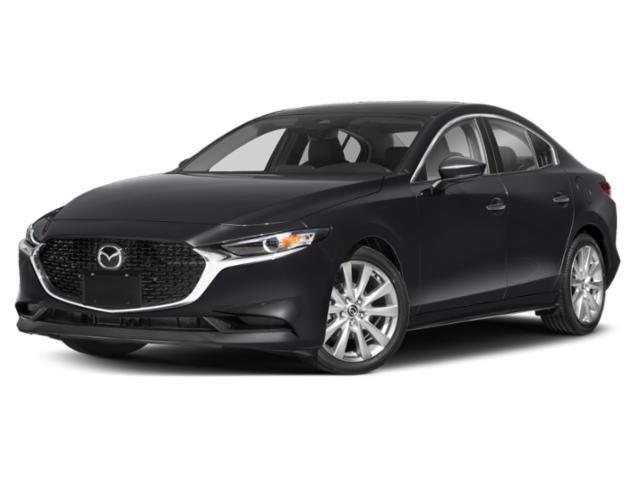 2020 Mazda Mazda3 Sedan Preferred Package SNOWFLAKE WHITE PEARL MICA PAINT CHARGE BLACK  LEATHERET