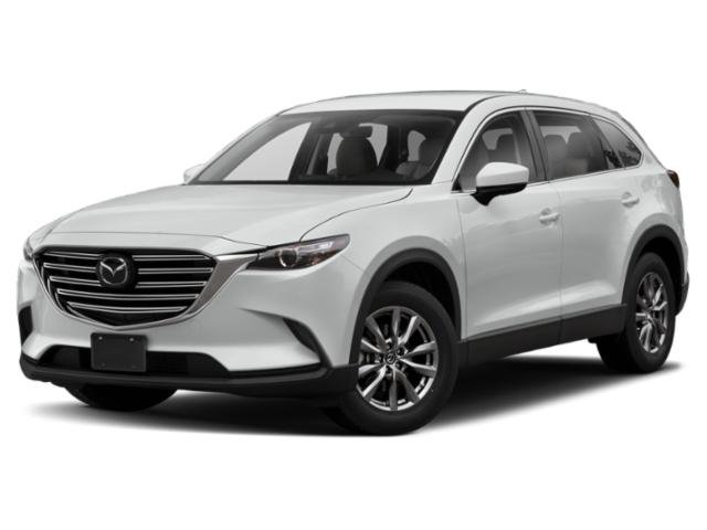 2020 Mazda CX-9 Touring BLACK  LEATHER-TRIMMED SEATS  -inc 1st and 2nd row outboard seating positi