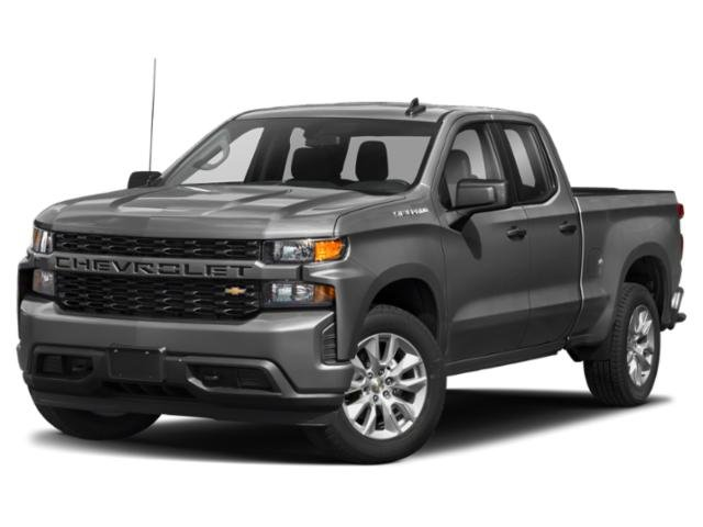 "2021 Chevrolet Silverado 1500 Custom 2WD Double Cab 147"" Custom Turbocharged Gas I4 2.7L/166 [0]"