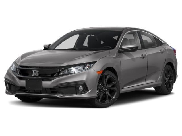 2021 Honda Civic Sedan Sport Sport CVT Regular Unleaded I-4 2.0 L/122 [14]