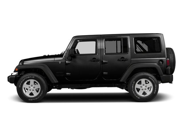2016 Jeep Wrangler Unlimited Black Bear Convertible