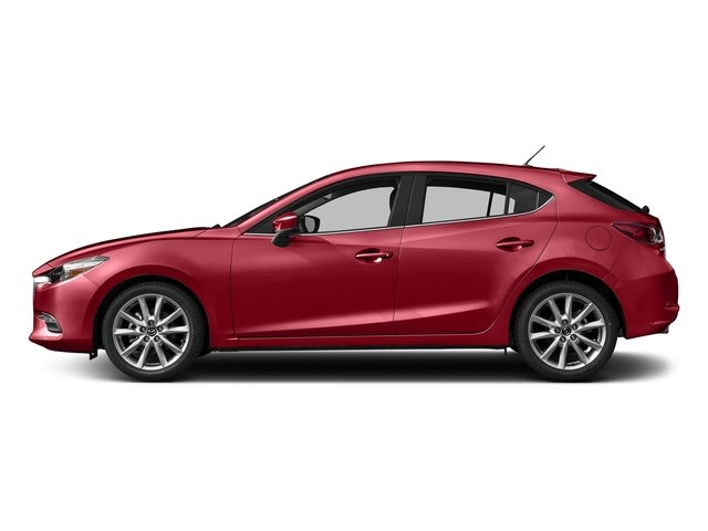 2017 Mazda Mazda3 5-Door Touring SOUL RED METALLIC SOUL RED METALLIC PAINT CHARGE BLACK  LEATHERE
