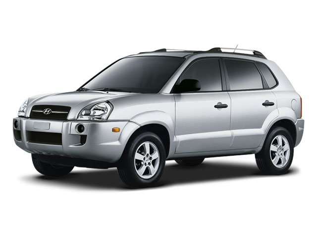 2008 Hyundai Tucson GLS Front Wheel Drive Tires - Front All-Season Tires - Rear All-Season Alumi