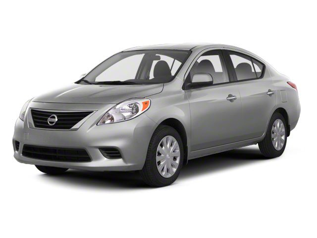 2012 Nissan Versa 16 SV Front Wheel Drive Power Steering Front DiscRear Drum Brakes Tires - Fr